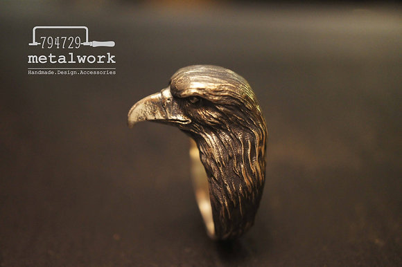 MW R1021 The 925 Silver Eagle Ring