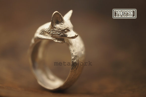 MW R1018 The 925 Silver Fox Ring