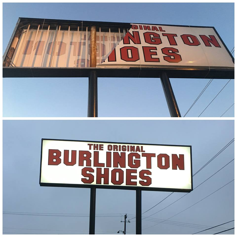 Sign Replacement