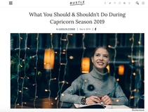 From Bustle: What You Should & Shouldn't Do During Capricorn Season 2019