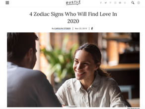 From Bustle: 4 Zodiac Signs Who Will Find Love In 2020