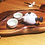 Thumbnail: Tea tray Taiwanese handmade tea tray with