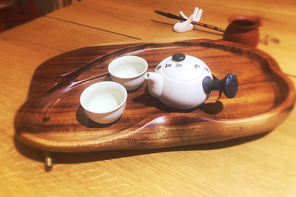 Tea tray Taiwanese handmade tea tray with