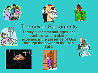 The+seven+Sacraments+Through+sacramental