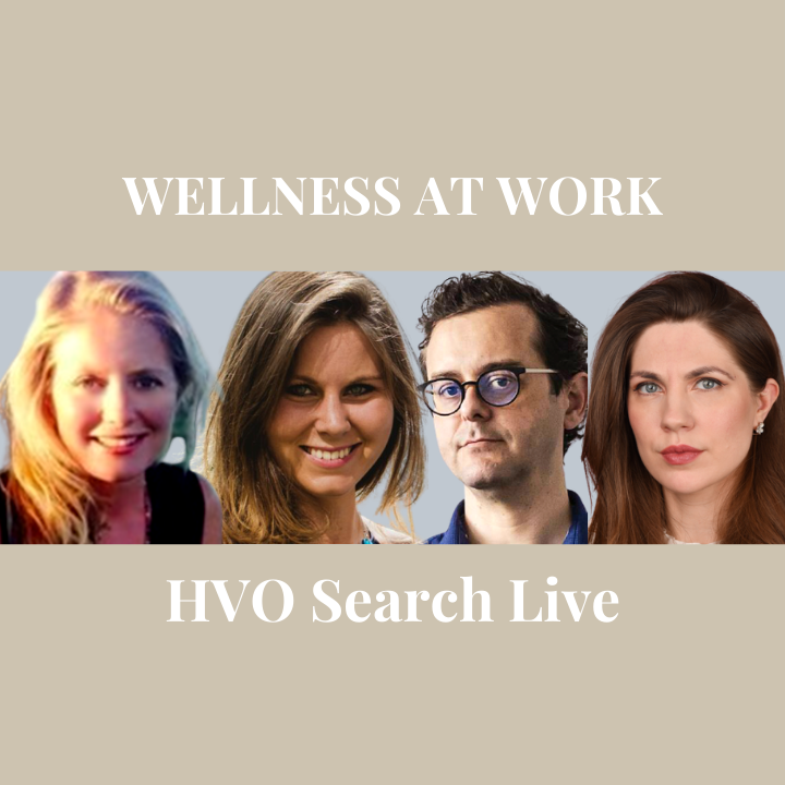 HVO Search Live: Wellness at Work