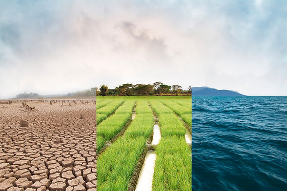 Climate change, compare image with Droug