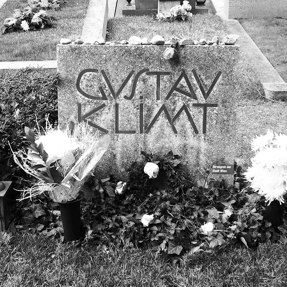 Klimts Grab am Hietzinger Friedhof