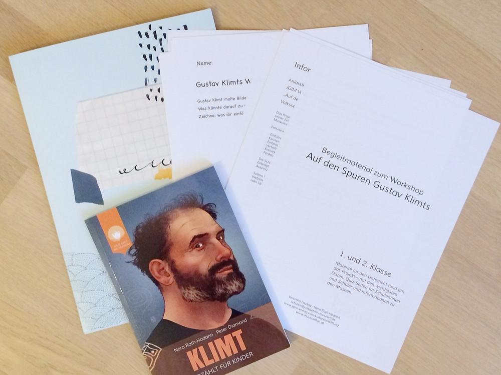 ©  JGIM Verlag . Begleitmaterial KLIMT Projekt