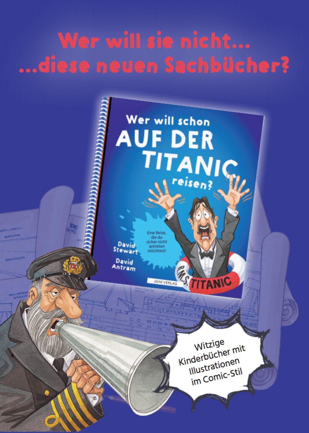 JGIM Verlag . WER WILL SCHON ... Kinderbuchserie