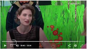 Nora Rath-Hodann bei schau TV