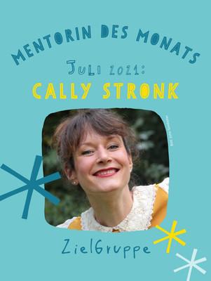 Cally Stronk - Mentorin des Monats August 2021