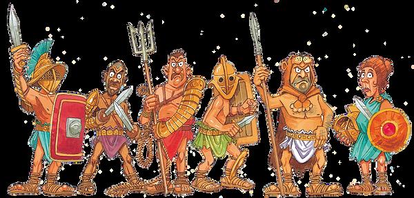 © JGIM Verlag. Wer will schon Römischer Gladiator sein?