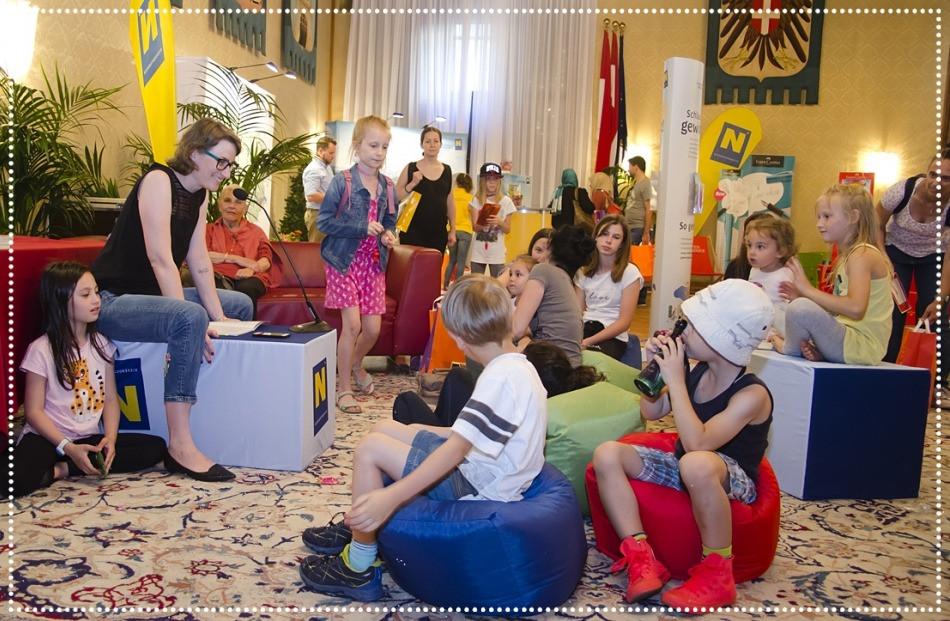 Wiener Kinderlesefest . Lesung von Nora Rath-Hodann