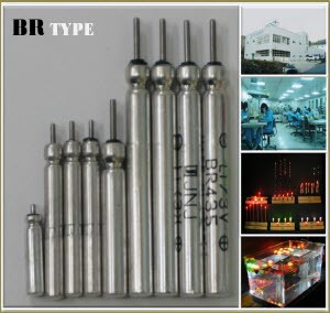BR Pin Type Battery