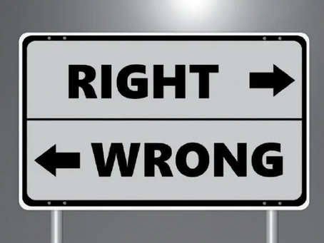 How to be wrong the right way