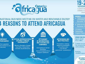 International Business Meeting on Water and Renewable Energy - Nov 19-20 - Africagua