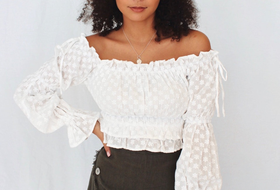 JADIA TOP // WHITE