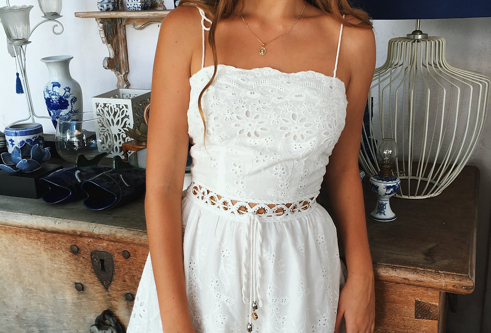 HAMPTONS PLAYSUIT // WHITE