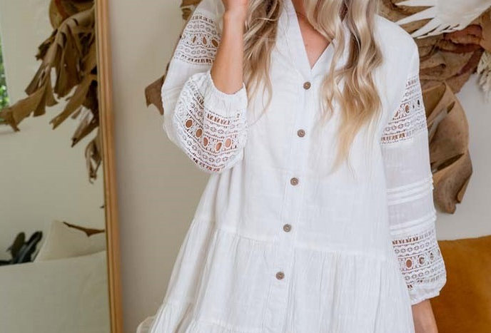 PORTUGAL DRESS // WHITE
