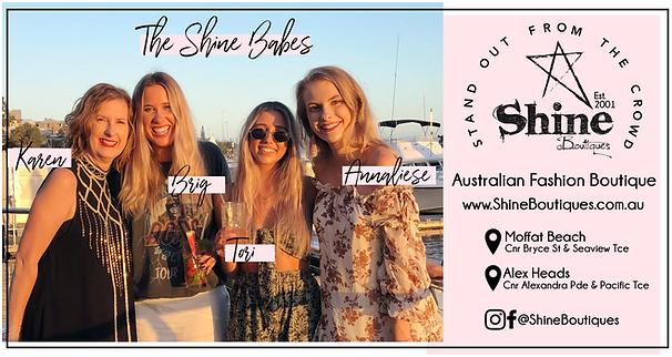 Shine Boutiques Sunshine Coast Fashion B