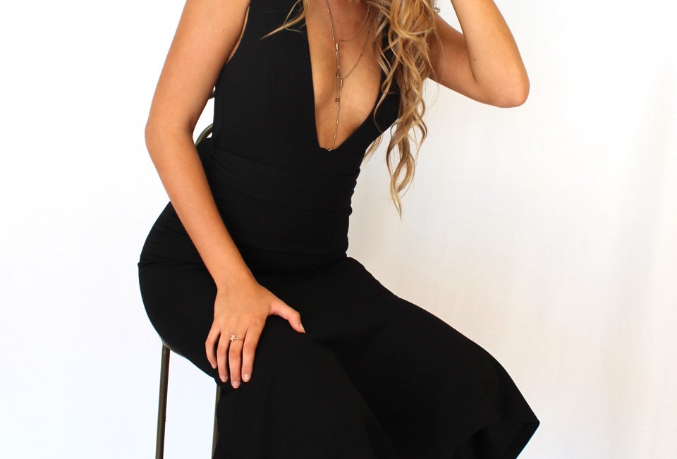 SHERI DRESS // BLACK