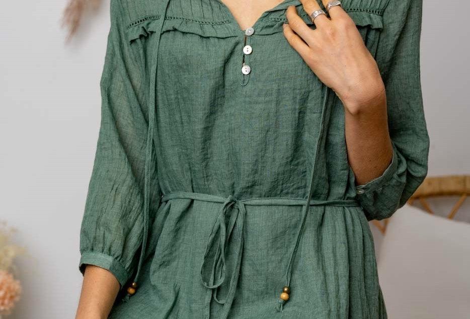 SAINT DRESS // GREEN