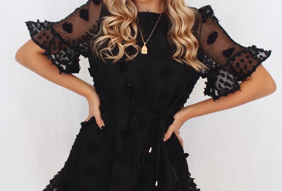 BLAKE DRESS // BLACK