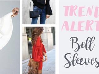 TREND ALERT // BELL SLEEVES