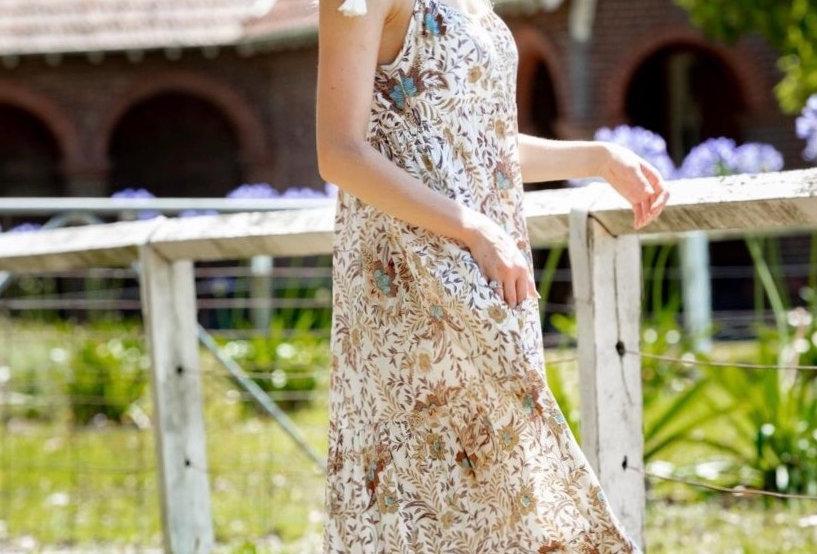 LA BOTANI COLLECTION//RESORT MAXI DRESS