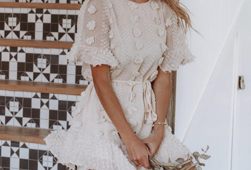 BLAKE DRESS // CREAM