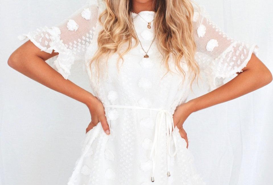 BLAKE DRESS // WHITE