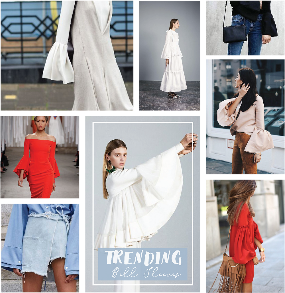 Shine Boutiques, Fashion Inspiration, Cat Walk Fashion, Bell Sleeves, Fashion Trend Alert