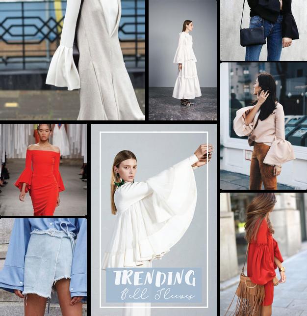 Znalezione obrazy dla zapytania trend bell sleeves