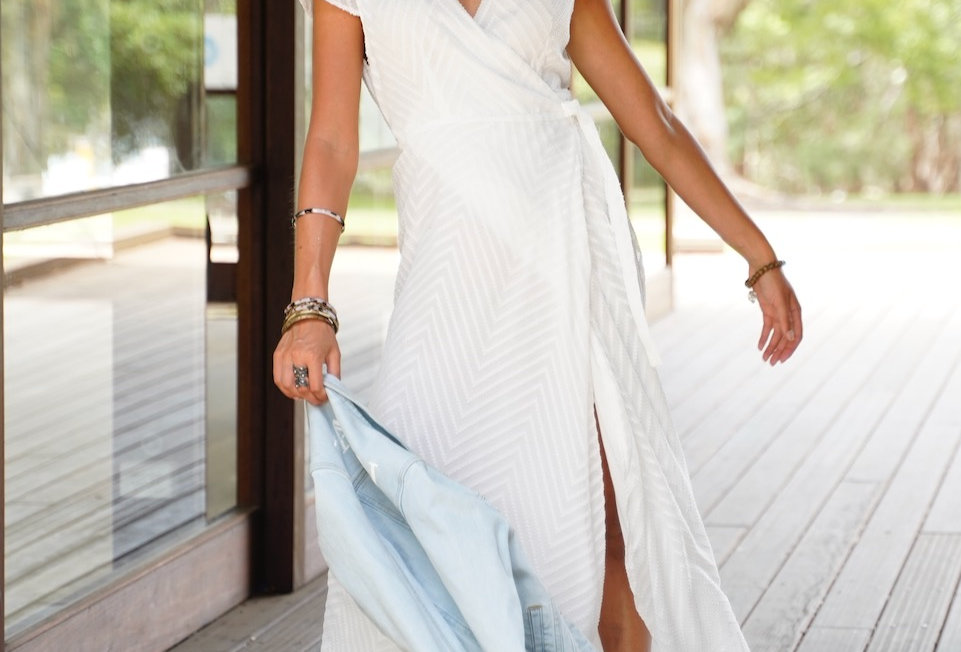 DENA MAXI DRESS // WHITE