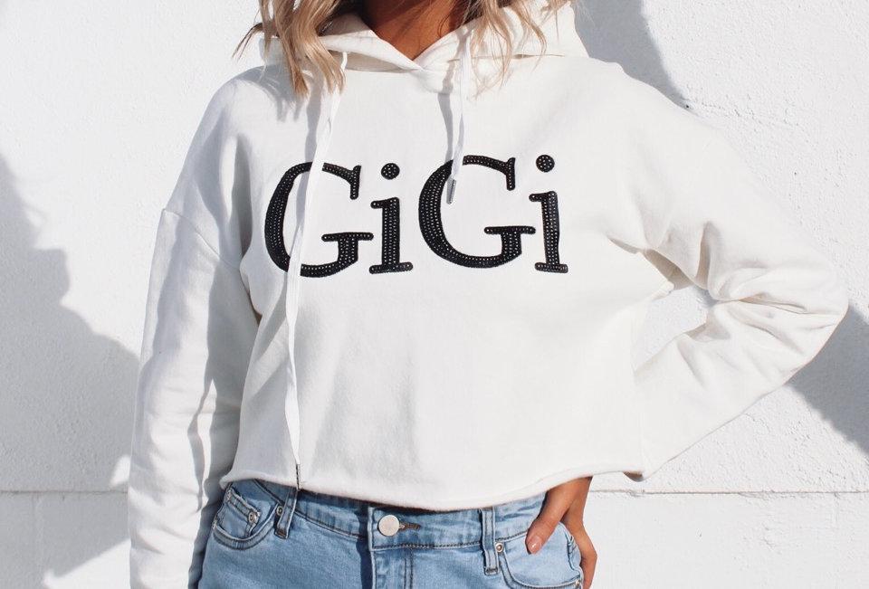 GIGI HOODIE // WHITE