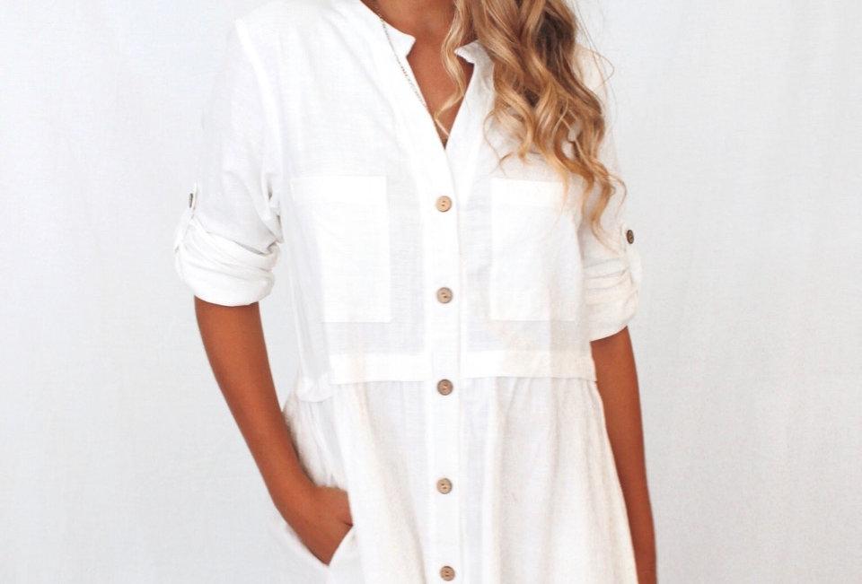 FLOE DRESS // WHITE
