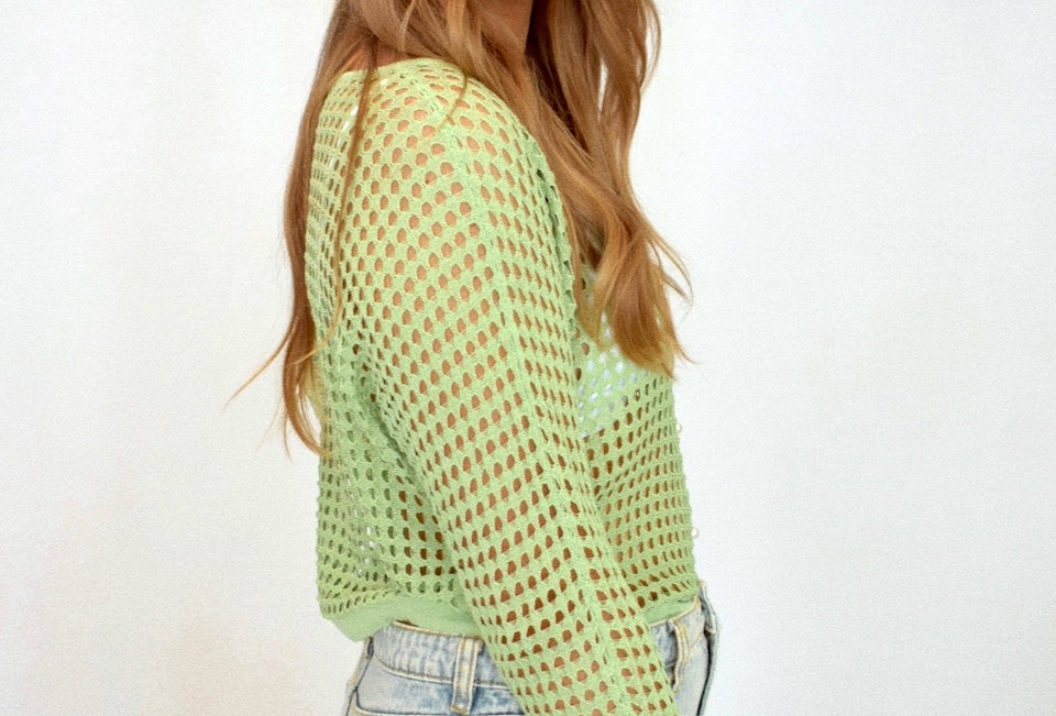 BENEE TOP // LIME GREEN