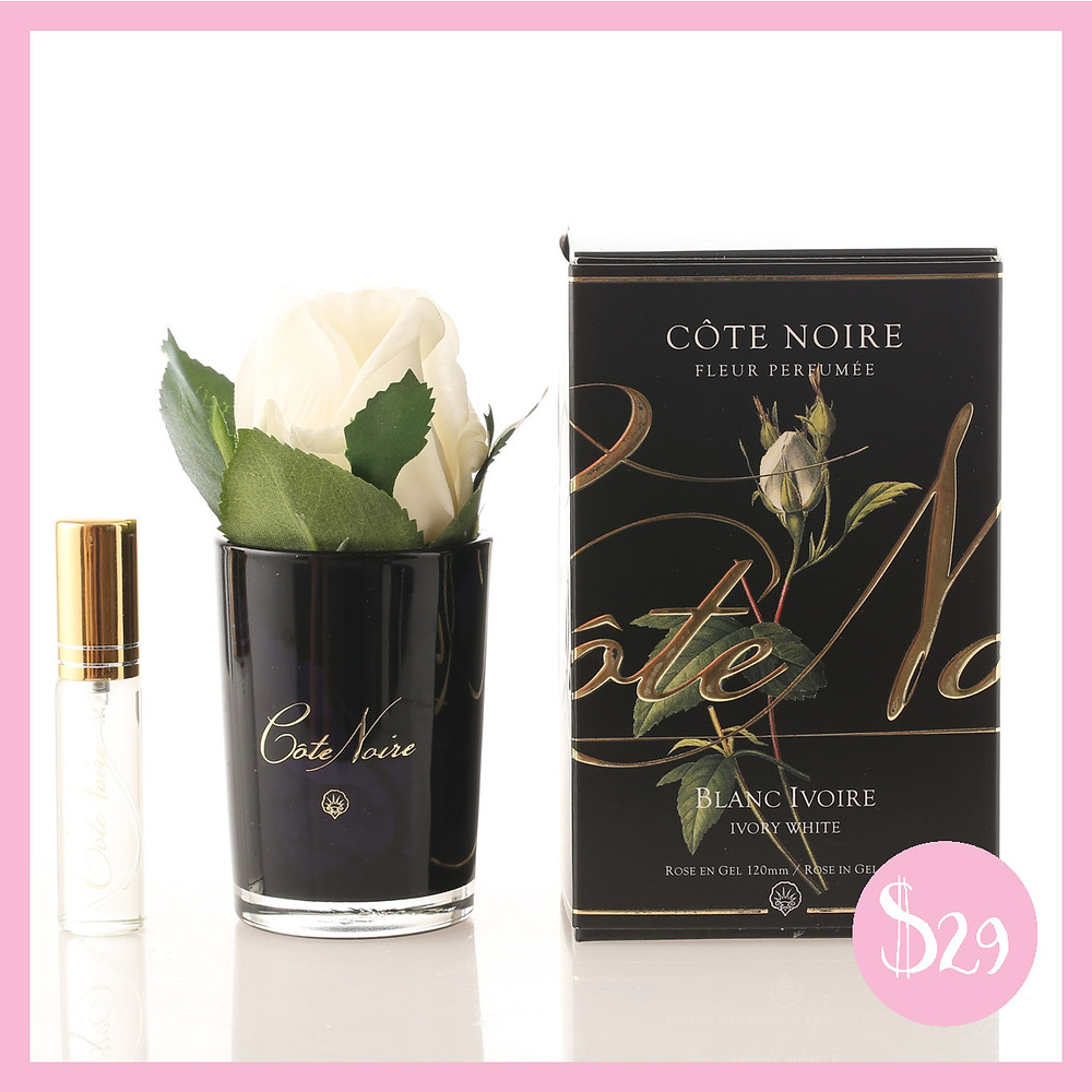 Côte Noire Perfumed Natural Touch Rose Bud from Shine Boutiques Sunshine Coast