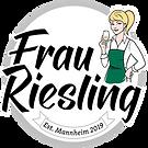 Logo Frau Riesling Weinseminar Mannheim.