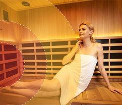Infrared Chromotherapy Sauna