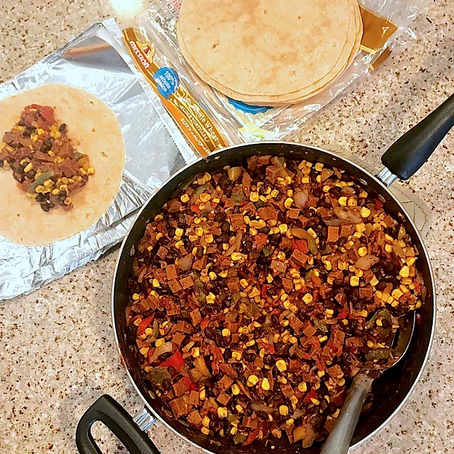Low-Calorie Vegan Breakfast Burritos
