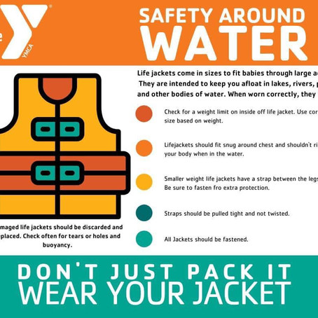 May is 'Water Safety' Month