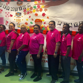 The Y goes PINK for Breast Cancer Awareness