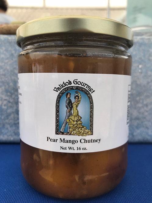 Pear Mango Chutney
