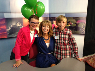 Anchor for the PBS Super School News!