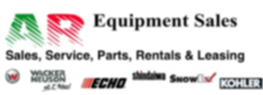 AR Equipment Sales Kohler, Wacker Neuson, Parts, Sales,Rentals