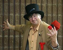 Mark Bruley magician.