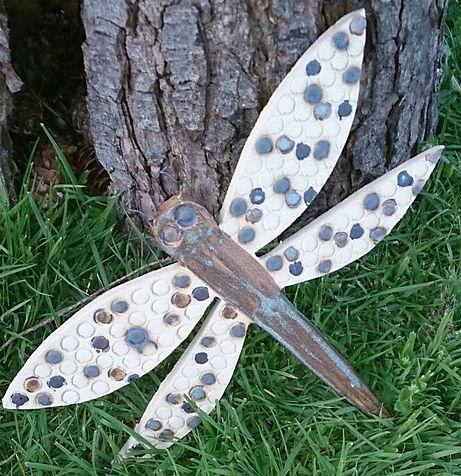 Stoneware Dragonfly
