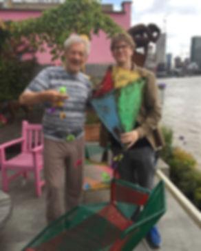 Ian Mckellen with director Ben Gough
