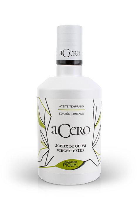 Caja 6 Botellas 500 ml ACERO (3 litros) - Cosecha Octubre 2020